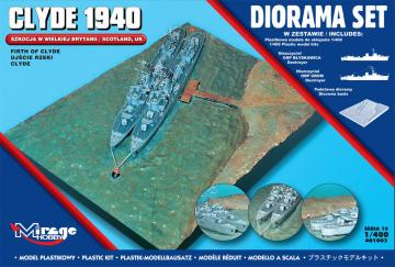 Clyde 1940 Diorama Set (Scotland,Firth of Clyde) · MG 401002 ·  Mirage Hobby · 1:400