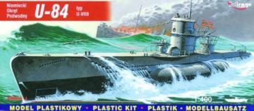Deutsches U-Boot U 84 Typ VII B · MG 40410 ·  Mirage Hobby · 1:400
