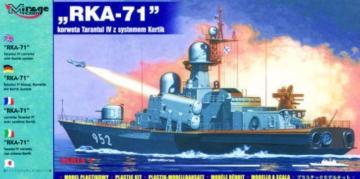 RKA-71 Tarantul IV mit Kortik System · MG 40421 ·  Mirage Hobby · 1:400