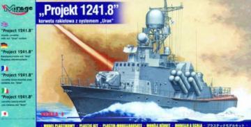 Projekt 1241.8 Raketen-Korvette mit Ural Flugzeug Abwehrsystem · MG 40422 ·  Mirage Hobby · 1:400