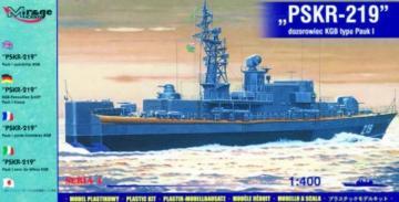 KGB-Patrouillenschiff PSKR-219 Pauk I-Klasse · MG 40423 ·  Mirage Hobby · 1:400