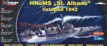 HMS ´St Albans´ Allied destroyer · MG 40609 ·  Mirage Hobby · 1:400