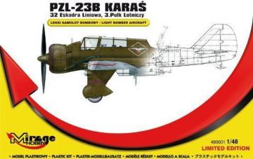 PZL-23B Karas Recon. Bomber 32thLF/3.AR · MG 480001 ·  Mirage Hobby · 1:48