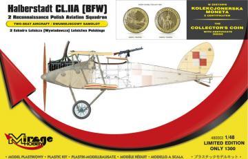 Halberstadt CL.IIA(BFW) 2 Recinnais.poli · MG 480003 ·  Mirage Hobby · 1:48