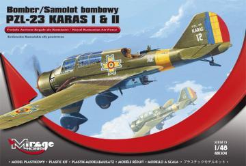 Bomber PZL-23 KARAS I & II · MG 481304 ·  Mirage Hobby · 1:48