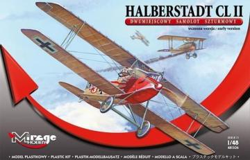 Halberstadt CL II · MG 481306 ·  Mirage Hobby · 1:48