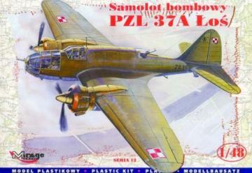 PZL 37A Los Bomber · MG 48131 ·  Mirage Hobby · 1:48