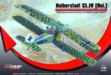 Halberstadt CL.IV(Rol)Twi-seat ground su · MG 481314 ·  Mirage Hobby · 1:48