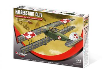 Halberstadt CL.IV [Polish-Russian War,RAF, Occupation Forces 1919] · MG 481403 ·  Mirage Hobby · 1:48