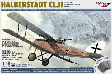 HALBERSTADT CL.II - Late Versions Presentation & Special Machines · MG 481405 ·  Mirage Hobby · 1:48