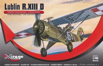 Lublin R.XIII D (Liaison plan) · MG 485001 ·  Mirage Hobby · 1:48