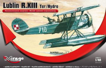 Lublin R.XIII Ter/Hydro Rec. seaplane · MG 485003 ·  Mirage Hobby · 1:48