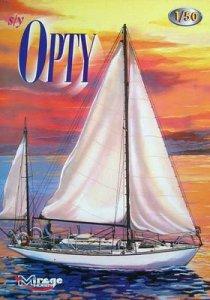 Segeljacht Opty · MG 50201 ·  Mirage Hobby · 1:50