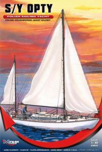 S/Y OPTY Polish Sailing Yacht · MG 508002 ·  Mirage Hobby · 1:50