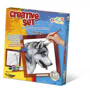 Creative Set, Dog - Husky · MG 61001 ·  Mirage Hobby