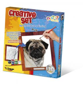 Creative Set, Dog - Pug · MG 61003 ·  Mirage Hobby