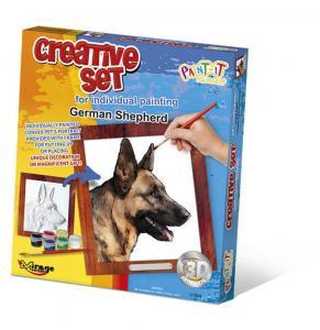 Creative Set, Dog - German Shepherd · MG 61004 ·  Mirage Hobby