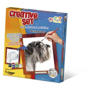 Creative Set, Dog - Schnauzer · MG 61007 ·  Mirage Hobby