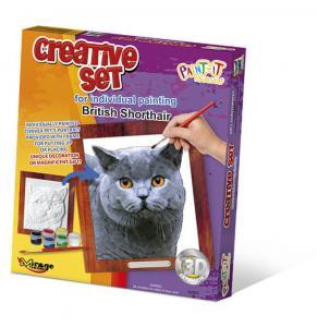 Creative Set, Cat - British Shorthair · MG 62001 ·  Mirage Hobby