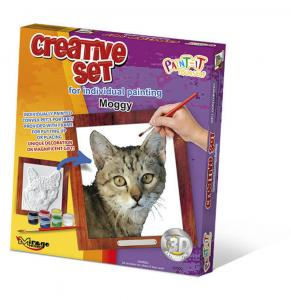 Creative Set, Cat - Moggy · MG 62002 ·  Mirage Hobby