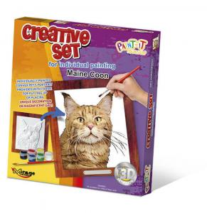 Creative Set, Cat - Maine Coon · MG 62003 ·  Mirage Hobby