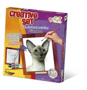 Creative Set, Cat - Siamese · MG 62006 ·  Mirage Hobby