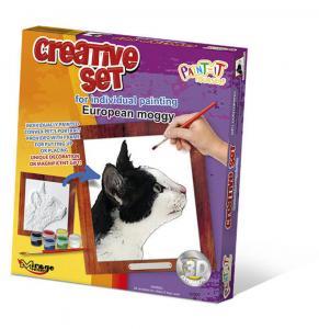 Creative Set, Cat - European Moggy · MG 62007 ·  Mirage Hobby