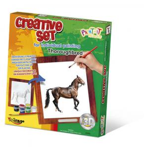 Creative Set, Horse - Thoroughbred · MG 63002 ·  Mirage Hobby