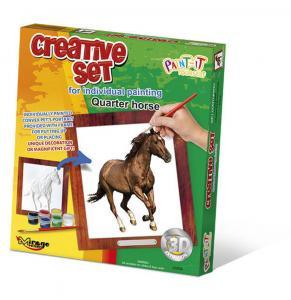 Creative Set, Horse - Quarter · MG 63008 ·  Mirage Hobby