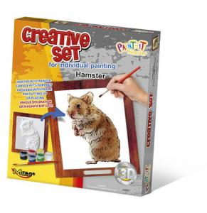 Creative Set, Small Pet - Hamster · MG 64001 ·  Mirage Hobby