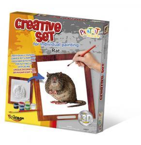 Creative Set, Small Pet - Rat · MG 64007 ·  Mirage Hobby