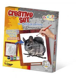 Creative Set, Small Pet - Chinchilla · MG 64008 ·  Mirage Hobby