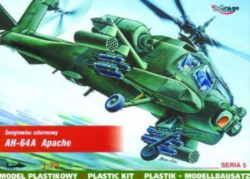 McDonnell Douglas AH-64 A Apache · MG 72051 ·  Mirage Hobby · 1:72