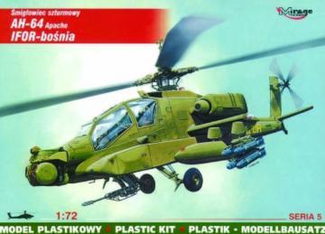 McDonnell Douglas AH-64 Apache IFOR Bosnien · MG 72052 ·  Mirage Hobby · 1:72