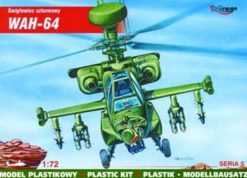 McDonnell Douglas WAH-64 Mehrzweck-Kampfhubschrauber · MG 72053 ·  Mirage Hobby · 1:72