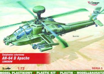 McDonnell Douglas AH-64 D Apache Longbow · MG 72054 ·  Mirage Hobby · 1:72
