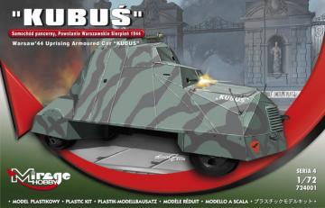 KUBUS (Warsaw´44 Uprising Armoured Car) · MG 724001 ·  Mirage Hobby · 1:72