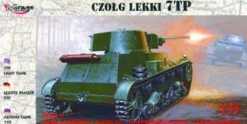 Leichter Panzer 7 TP · MG 72601 ·  Mirage Hobby · 1:72