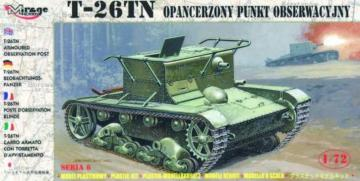 T-26 TN Beobachtungspanzer · MG 72606 ·  Mirage Hobby · 1:72