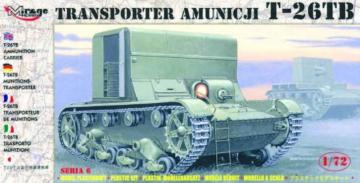 Munitionstransporter T-26 TB · MG 72607 ·  Mirage Hobby · 1:72