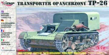 Gep. Mannschaftstransporter TP-26 · MG 72608 ·  Mirage Hobby · 1:72
