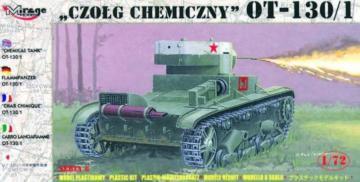 Flammpanzer OT-130-1 · MG 72614 ·  Mirage Hobby · 1:72