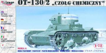 OT-130/2 Flammpanzer · MG 72615 ·  Mirage Hobby · 1:72