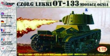 Flammpanzer OT-133 finnische Beuteversion · MG 72616 ·  Mirage Hobby · 1:72
