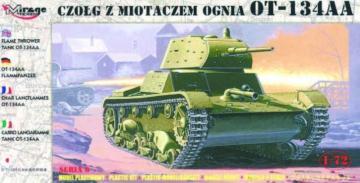 Flammpanzer OT-134 AA · MG 72618 ·  Mirage Hobby · 1:72