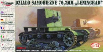 Selbstfahrhaubitze 76,2 mm Leningrad · MG 72627 ·  Mirage Hobby · 1:72