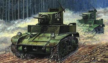 M3 US Light Tank ´First Hundred´ · MG 72670 ·  Mirage Hobby · 1:72
