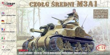 M3A1 · MG 72803 ·  Mirage Hobby · 1:72