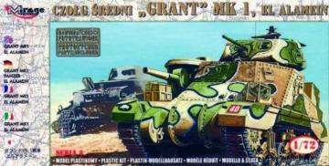Panzer Grant Mk. I El Alamein · MG 72804 ·  Mirage Hobby · 1:72