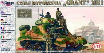 Kommandopanzer Grant Mk. I · MG 72805 ·  Mirage Hobby · 1:72